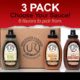 3 pack underwood ranches jalapeno sauces