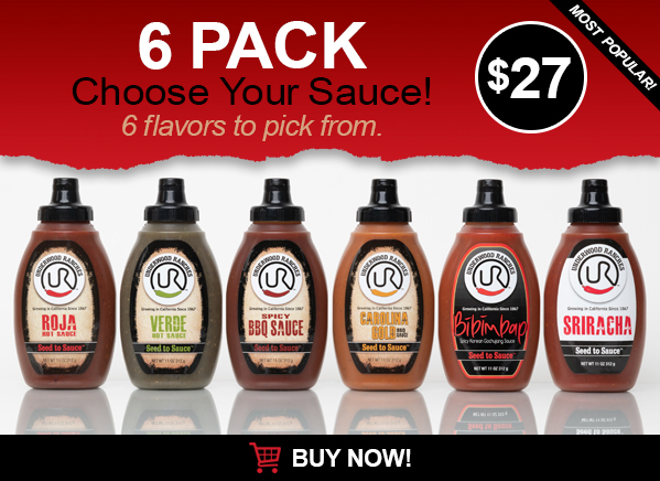 6 pack underwood ranches jalapeno sauces